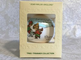Hallmark Keepsake ORNAMENT- SATIN- Joan Walsh Anglund -1980- Iob - $14.50