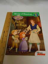World of Reading: Sofia the First Riches to Rags: Level 1 Disney Book G... - $3.95