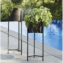 Tall Plant Stand Metal Vintage Handcraft Iron Holder Wrought Pot Inch Ou... - $167.99 CAD