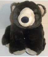 "ANIMAL ALLEY BROWN FLOPPY GRIZZLY BEAR 13"" STUFFED PLUSH DOLL TOY LOVEY PAL - $9.99"