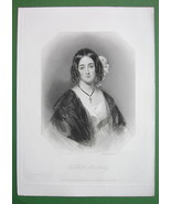 QUEEN VICTORIA'S Court Beauty Honorable Mrs. Ashley - SUPERB Antique Print - $21.42
