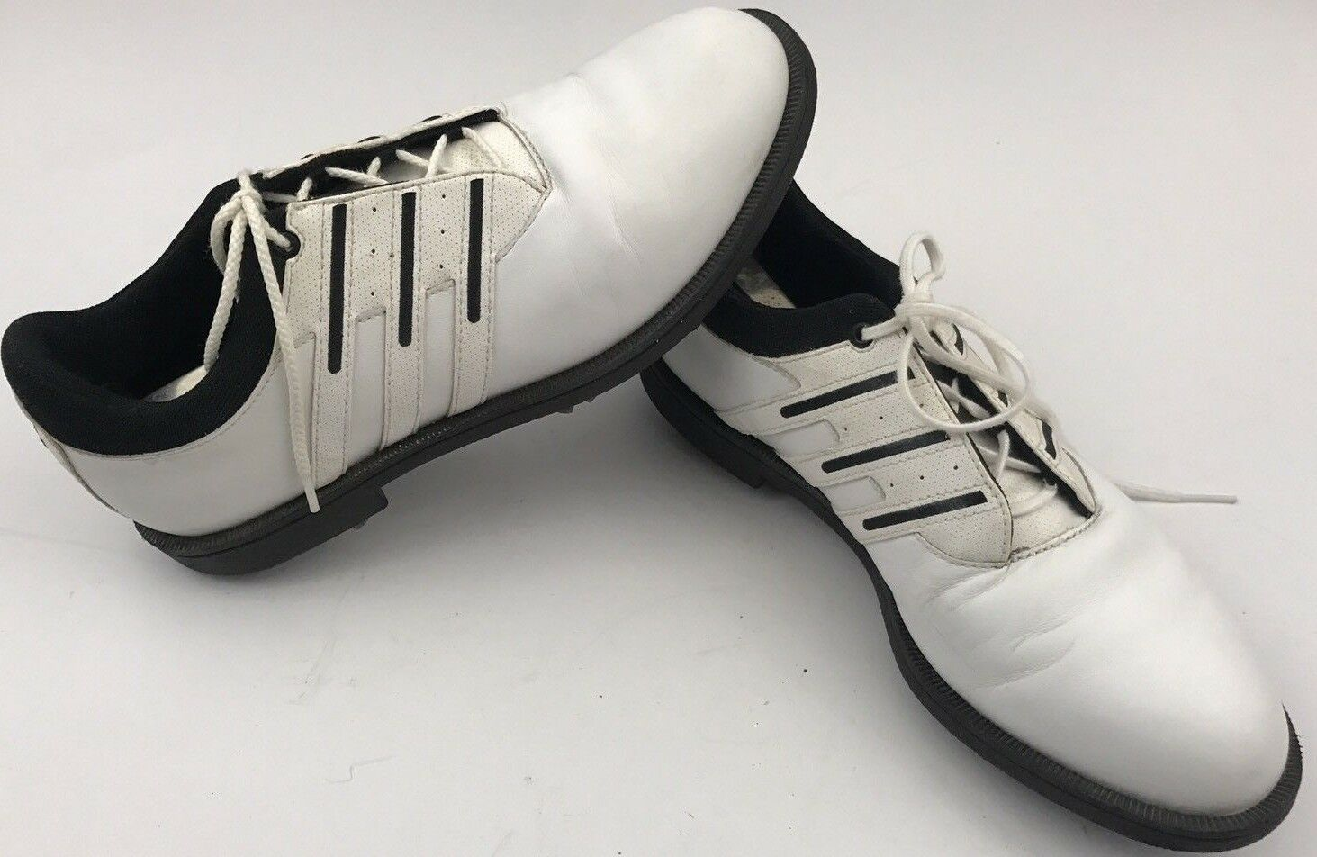 Primary image for Adidas Spike Golf Cleats Women's Size 8 White Athletic