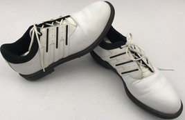 Adidas Spike Golf Cleats Women's Size 8 White Athletic - $14.19