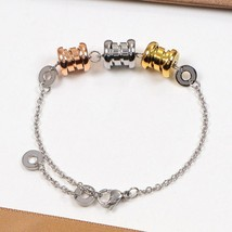 2019 Personalized Good Luck cuff Bracelet Jewelry luxury brand stainless steel D - $35.07