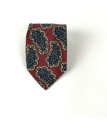 Vintage HUGO BOSS Mod Paisley Tie 100% Silk Made in Italy - $14.84