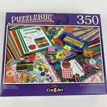 """BACK TO SCHOOL 350 Pc Puzzle. New/sealed, Puzzlebug. 18.25x11"""". - $6.78"""