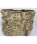 FRANKOMA  Flower Pot Planter Vase Clay Pottery Vintage Plainsman Gold Co... - $49.45
