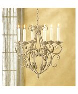 Candleholders Wrought Iron Old World Style Candle Holder Royalty's Chand... - $40.19