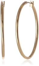 Anne Klein Classics Gold-Tone Thin Hoop Earrings - $24.09