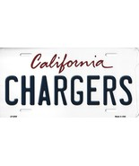 Chargers California State Background Metal License Plate Tag (Chargers) - $11.95