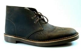 EXCELLENT Clark's Bushacre Brown Beeswax 82286 Desert Boots SZ 12M 12 M - $41.57