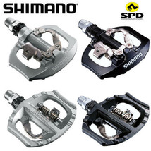 2015 Shimano PD-A530 Clipless Pedal with SPD Cleats Road Bike MTB Silver... - $56.99