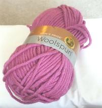 1 Skein Yarn Lion Brand Woolspun 142 Orchid - $10.19