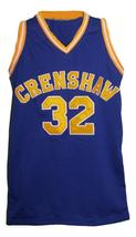 Monica Wright #32 Crenshaw Love And Basketball Jersey New Sewn Blue Any Size image 3