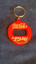 Metal Coca-Cola Key Chain Bottle Opener. - $8.50