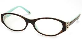 Tiffany & Co. Tf 2067-B 8134 Havana Blue Eyeglasses Frame 53-16-135 B33 Italy - $74.23