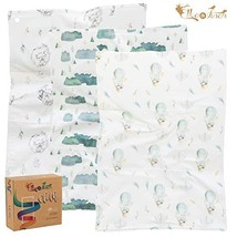 Burp Cloths by Elka&Finch. Soft Absorbent Baby Cloths That Have You Covered. wit