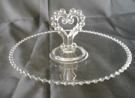 """Candlewick Crystal 12 """" Center Handle Pastry Serving Tray, Imperial Glas... - $25.95"""