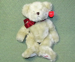 "13"" Russ Thoughts Of Love Teddy Haley Bear With Hang Tag Stuffed Animal Soft Fur - $23.76"