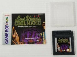 MI) Las Vegas Cool Hand (Nintendo Game Boy Color, 1998) Video Game Tested - $7.91