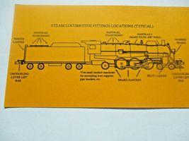 Gold Medal Models # 160-42 Steam Locomotive Detailing Set N-Scale image 4