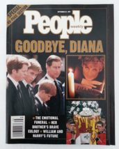 Magazine People 1997 September 22 Issue Good-Bye Diana Special 49 Page S... - $18.99