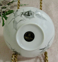 """Continental China Jet Rose By Raymond Loewy 4 3/4"""" Dessert Sauce Bowls S... - $39.55"""