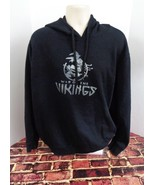 War of the Vikings Black Sweatshirt Hoodie Size 2XL XXL Video Game Slash o - $20.82
