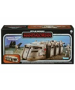 Star Wars Vintage Collection The Mandalorian Imperial Troop Transport IN... - $74.99