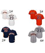 Men's Houston Astros #23 Michael Brantley Cool Base Series Jersey - $40.99