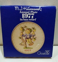 New Goebel 7th Annual Plate 1977 MJ Hummel 270 West Germany - $14.93