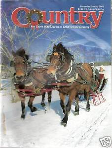 Primary image for Country Magazine December/January 2008