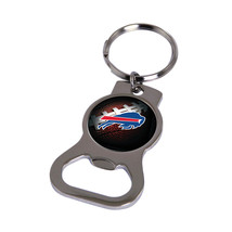 Non Metal Nfl Buffalo Bills Bottle Opener Key Ring By Rico Industries (Length=1. - $11.62
