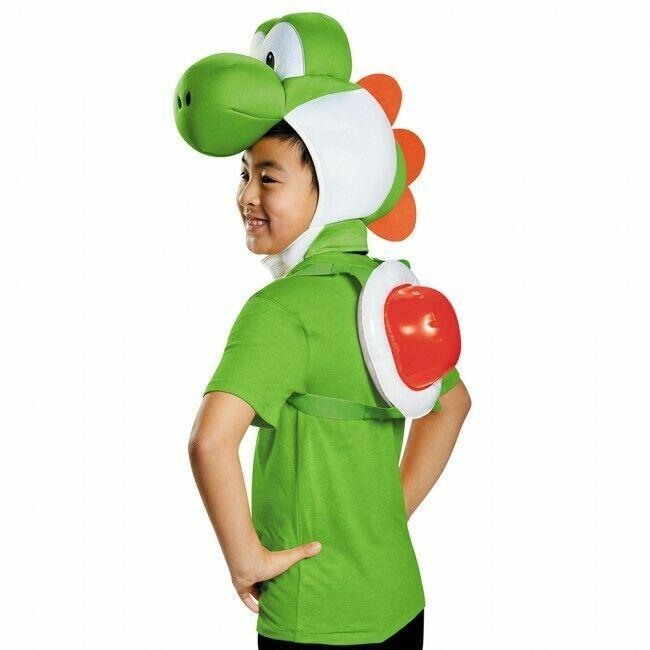 Disguise Nintendo Super Mario Yoshi Kit Juego Niños Disfraz Halloween 85227CH