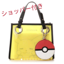 Samantha Vega Pokemon Collection Vinyl bag with pouch Pikachu New - $284.12
