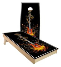 Guitar Design Cornhole Boards - $179.00