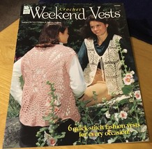 Crochet Weekend Vests- House of White Birches 101094 - 6 Crochet Patterns - $4.99