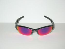 Oakley Flak Jacket Carbon Print Frame w/ + Red Iridium lenses Sunglasses  - $160.00
