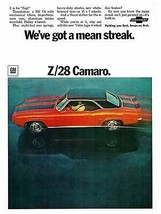 1969 Camaro Z28 ad  POSTER 24 x 36 INCH POSTER  |  - $19.79