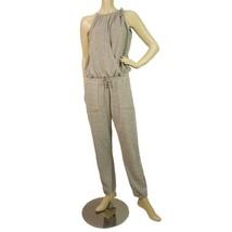 Sugarfree Women's Grey Cross Over Sleeveless Jumpsuit - SzM - $39.60