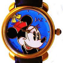 Minnie Mouse Seiko Jaz Watch Unworn HTF Rare Easy Read Gold Dial & Case ... - $87.96