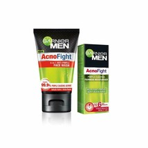 Garnier Anti Pimple Facewash & Pimple Clearing Whitening Day Cream,145 m... - $14.24