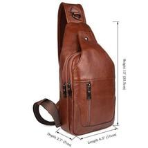 Sale, Messenger Bag, Men's Leather Messenger Bag, Men's Cross Leather Bag, Verti image 1