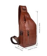 Sale, Messenger Bag, Men's Leather Messenger Bag, Men's Cross Leather Ba... - $96.00