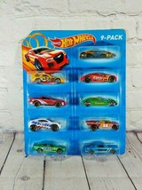 Hot Wheels 9 Pack Die-Cast Toy Vehicles Racing Sports Rescue Cars (Y3731... - $12.86