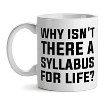Why isnt There A Syllabus For Life Thug Life Struggle - Mad Over Mugs - Inspirat - $17.59