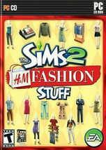 The Sims 2  H & M Fashion Stuff 2007 PC  Pre-Owned CD-ROM - $7.42
