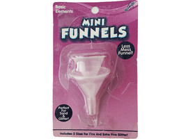Horizon Group Mini Funnels, Set of 2, Perfect for Sand and Glitter