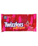 2 PACK Twizzlers Pull n Peel Cherry Chewy Candy 396g Each-Canada FRESH D... - $18.56