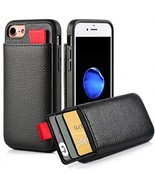IPhone 8 Wallet Case, IPhone 7 Card Holder Case, LAMEEKU Apple 7 Shockpr... - $37.92